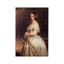 Queen Victoria/Rectangle Magnet