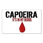 In My Blood (Capoeira) Rectangle Sticker