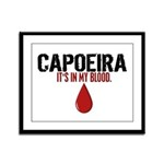 In My Blood (Capoeira) Framed Panel Print