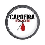 In My Blood (Capoeira) Wall Clock