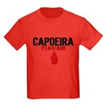 In My Blood (Capoeira) Kids Dark T-Shirt