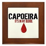 In My Blood (Capoeira) Framed Tile