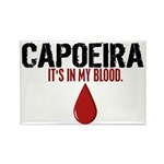 In My Blood (Capoeira) Rectangle Magnet (10 pack)