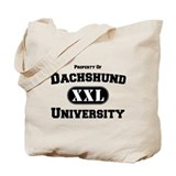 Dachshund University Tote Bag