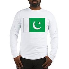 Pakistan Flag Long Sleeve T-Shirt