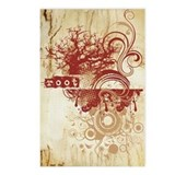 Red Root Chakra Postcards (Package of 8)