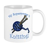 My Superpower is Knitting Coffee Mug