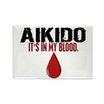 In My Blood (Aikido) Rectangle Magnet (100 pack)