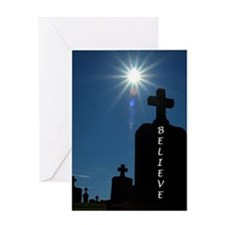 Cool Cemetery Greeting Card