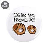 "Big Brothers Rock 3.5"" Button (10 pack)"