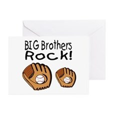 Big Brothers Rock Greeting Cards (Pk of 20)