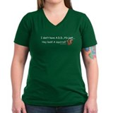 I Don't Have A.D.D. Squirrel Shirt