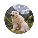 Great Pyrenees Ornament [rd] Nousty