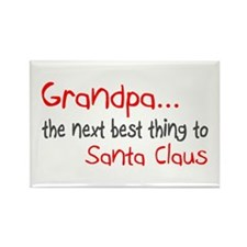 Grandpa, The Next Best Thing To Santa Claus Rectan