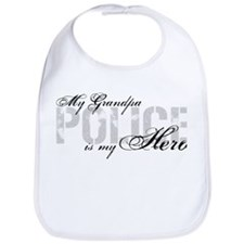 My Grandpa is My Hero - POLICE Bib