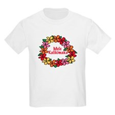 Hawaiian Christmas Lei T-Shirt