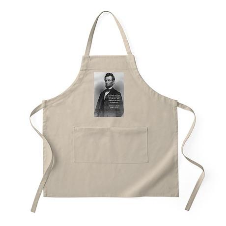 President Abraham Lincoln BBQ Apron
