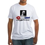 Latinos Unidos con Obama Fitted T-Shirt