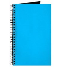 Deep Sky Blue Color Journal/Notebook