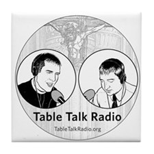 Table Talk Radio Tile Coaster