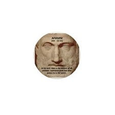 Greek Philosophers: Aristotle Mini Button (10 pack
