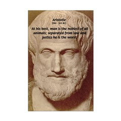 Greek Philosophers: Aristotle Mini Poster Print