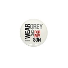 I Wear Grey Son Mini Button (10 pack)