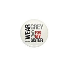I Wear Grey (Sister) Mini Button (10 pack)