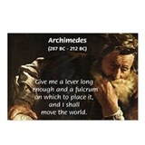 Greek Mathematician: Archimedes Postcards (Package