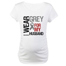 I Wear Grey Husband Shirt