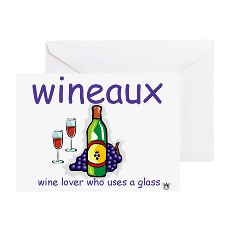 Wineaux Greeting Cards (Pk of 10)