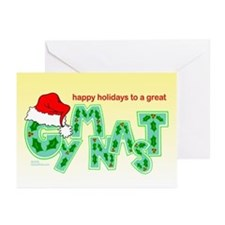 Holiday Gymnast Greeting Cards (Pk of 10)