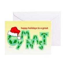 Holiday Gymnast Greeting Cards (Pk of 20)