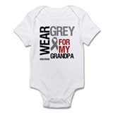 I Wear Grey Grandpa Infant Bodysuit