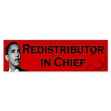 Redistributor In Chief Bumper Sticker (50 pk)