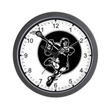 LAX Player Logo Wall Clock
