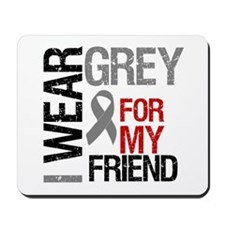 IWearGrey Friend Mousepad