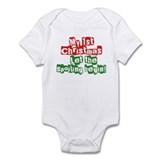 Infant Bodysuit 1st Christmas