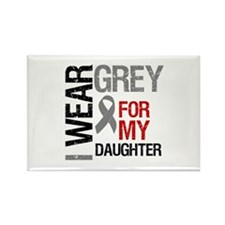 IWearGrey Daughter Rectangle Magnet