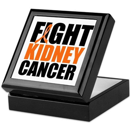 Fight Kidney Cancer Keepsake Box