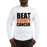 Beat Kidney Cancer Long Sleeve T-Shirt