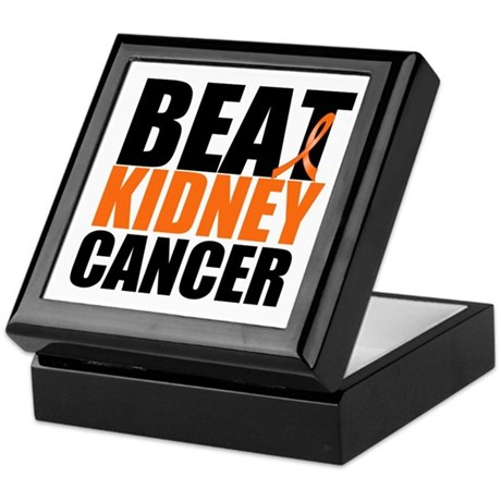 Beat Kidney Cancer Keepsake Box