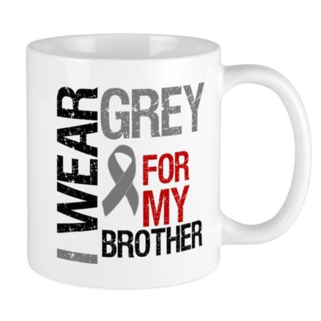 I Wear Grey Brother Mug