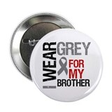 "I Wear Grey Brother 2.25"" Button (10 pack)"