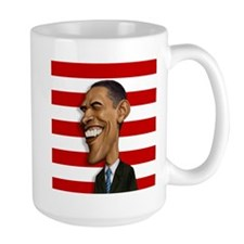 Barack Obama Caricature Mug
