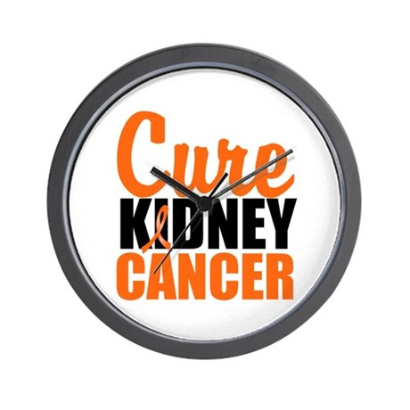 Cure Kidney Cancer Wall Clock
