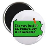 Scranton St Patricks Day Parade Magnet