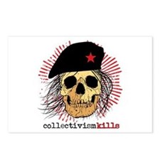 Collectivism Kills Postcards (Package of 8)