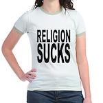 Religion Sucks Jr. Ringer T-Shirt