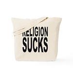 Religion Sucks Tote Bag